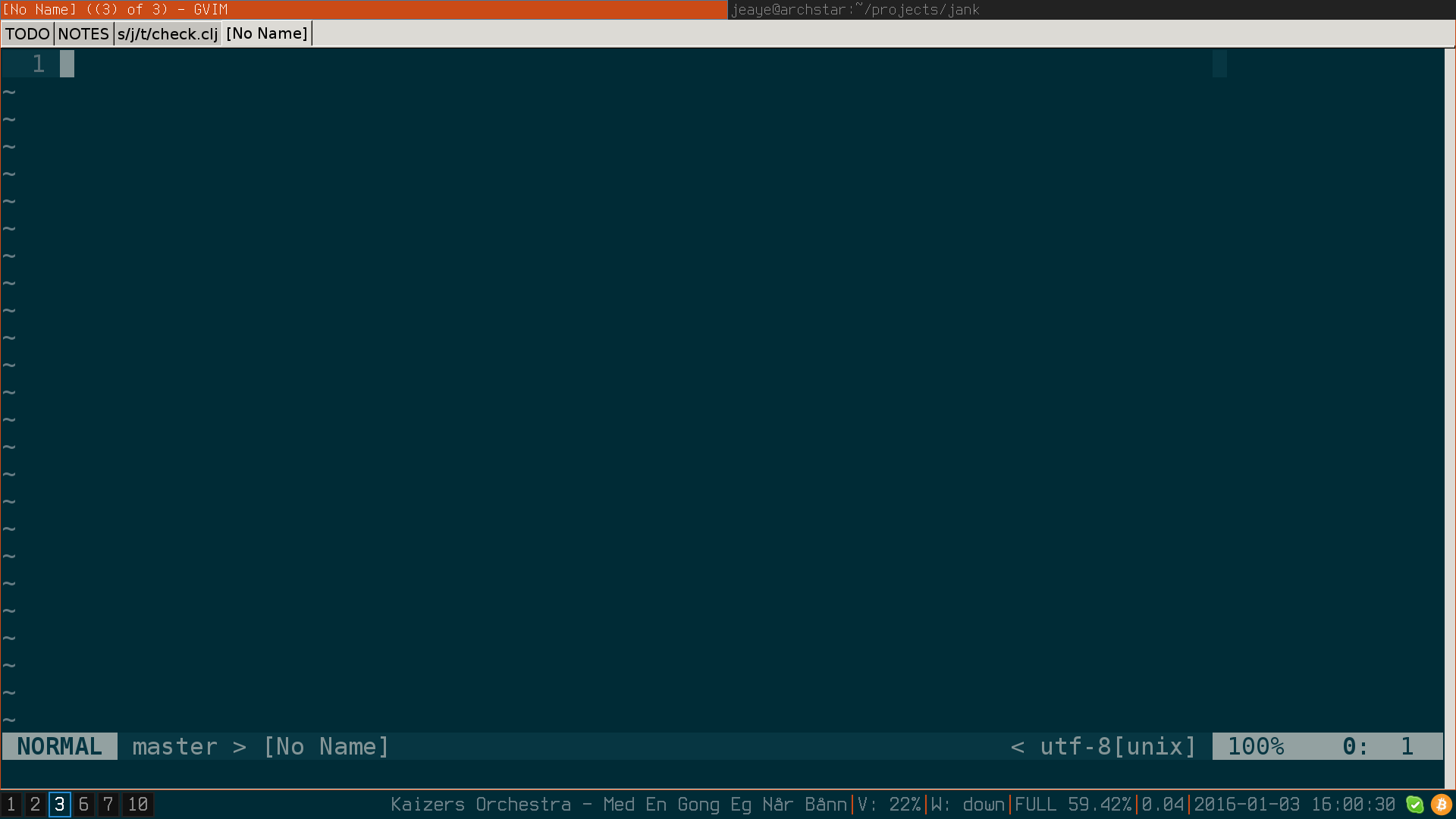 From Vim-GTK to Vim-Qt | Jeaye's Blog